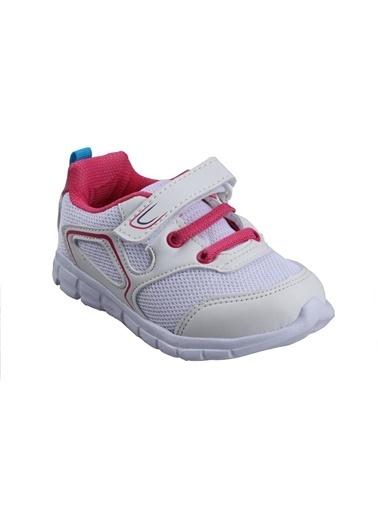 Cool 20-S27 Beyaz Kız Çocuk Bebe Günlük Spor Ayakkabı Beyaz